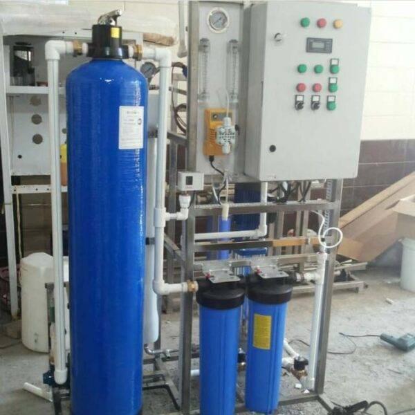 دستگاه تصفیه آب صنعتی دانشگاه آزاد اسلامی