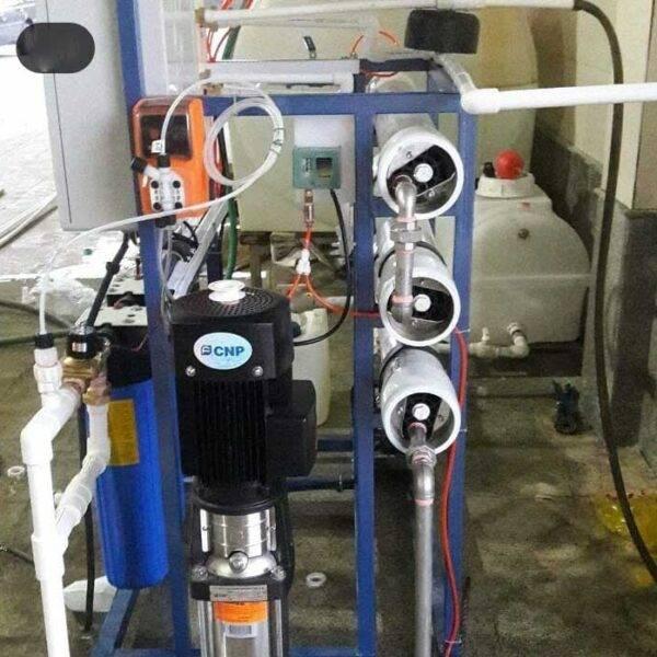 دستگاه تصفیه آب صنعتی - 15 متر